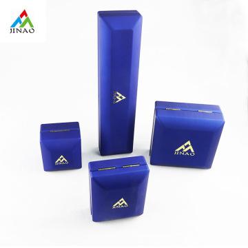 Set de joyero de luz LED de plástico azul