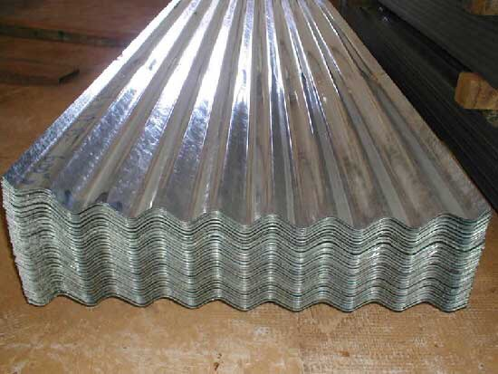 836 corrugated sheet
