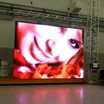 LED Screen Trailer Truck Vermietung