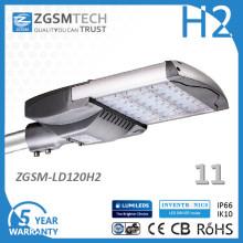 120W LED Straßenbeleuchtung für Parkplatz