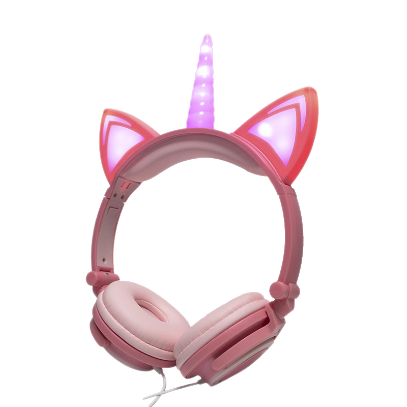 Unicorn Headphone Peach 6