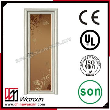 Perfil de aluminio para puerta de ducha de vidrio