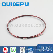 líder fabricante China mayorista Clasifique 1.0-8.0 mm cobre esmaltado alambre cuadrado