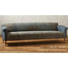 Tissu composé de faux cuir de daim de polyester pour le sofa