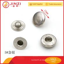 Personalizado botão de snap prong metal de ponta do fabricante chinês