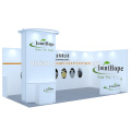 Detian Offer 10x20ft simple aluminium tension fabric stand trade show display