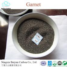 garnet rough 30/60 abrasive Garnet sand for waterjet cutting and sandblasting competitive garnet price