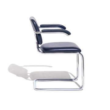 Marcel Breuer 관 스틸 의자 Knoll Cesca chair