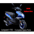 Jiajue 50cc Scooter Parts LEOPARD F35 Scooter Parts