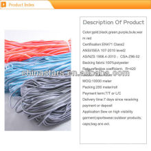 colorful reflective piping for clothing