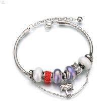 Bracelete de aço inoxidável feito sob encomenda acessório charme da personalidade nova de Diy das mulheres