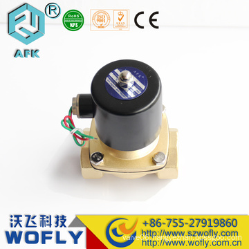 Brass or stainless steel low Price 12V solenoid Valve Waterproof