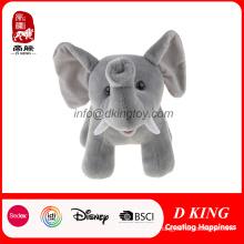 Проверкой sa8000 сертификат Оптовая мягкие плюшевые животных мягкая игрушка Слон