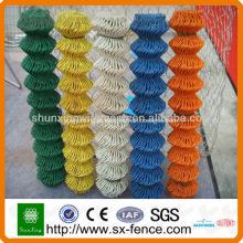 Malha de arame de elo de corrente revestida de PVC