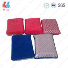Microfiber kitchen washing sponge