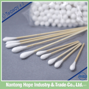 sterile medical absorbent wooden cotton buds
