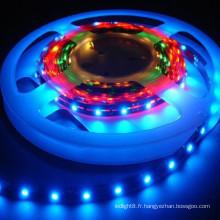 Feu de bande flexible à bande led RGB et bande chaude OEM haute qualité