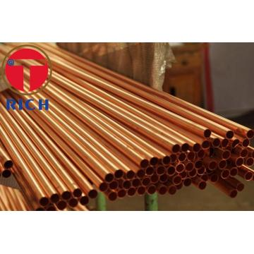 Standard Precision Straight Copper untuk Tabung Gas Air / pipa