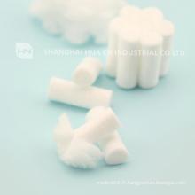 10x38mm Jetables en coton dentaire en rouleau # 2 taille