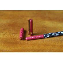 Aglet del metal del lazo del cordón de encargo promocional y aglet que inclina la máquina