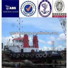 Exporta bolsas de aire de goma de tipo neumático de Indonesia
