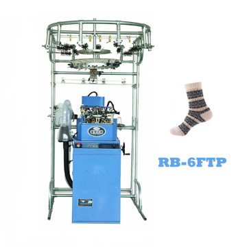 China for Single Cylinder  Knitting Machine fully automatic jacquard cotton socks knitting machine price supply to Angola Factories