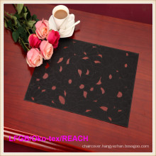 Fashion Printed PVC Lace Placemat / Crochet Doilies