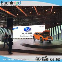 Auto-Show-LED-Panel Günstige P4.8 führte Vermietung Videowand