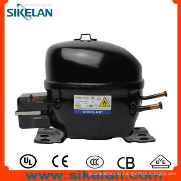 Pequeña vibración y buena confiabilidad Qd91yg AC Compressor