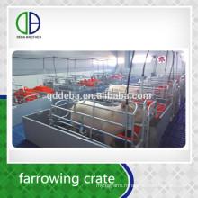 Approvisionnement d'usine Galvanized Pig Sow FarrowingHouse pour le cochon