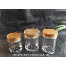 Bouteille de médicament acrylique en plastique de haute qualité