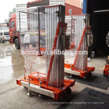 Einzelkolonnen-Aluminiumlegierungs-Hebebühne-Plattform