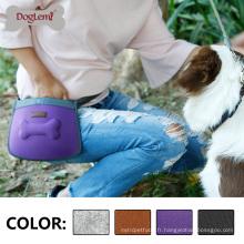 Pet Treat Pouch Dog petite taille Mix couleurs sac
