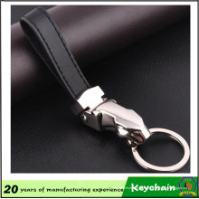 Neues Design Mode Leder Jaguar Keychain