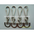 Custom high quality and cheap metal material key chain ring