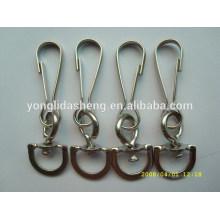 Alta calidad personalizada y anillo material barato de la cadena dominante del metal