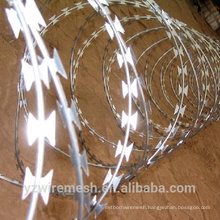 factory price razor barbed wire galvanized concertina razor wire