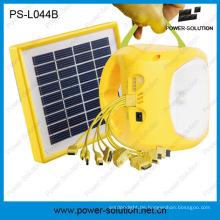 Portable und leichte 3.7V 2600mAh Lithium-Batterie LED Solar Lampen mit Gebühren Telefon (PS-L044N)