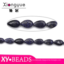 Teardrop Black Gemstone Jewellery Beads Wholesale