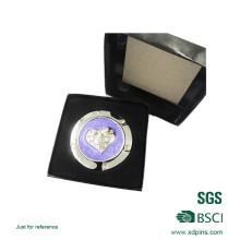 Kundengebundener purpurroter Farben-Taschen-Geldbeutel-Aufhänger