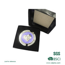 Suspensión púrpura personalizada del monedero del bolso del color