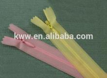 no 3 nylon zipper lace half transparent fabric tape