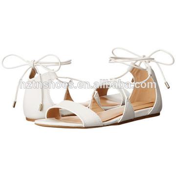 Chaussures plates pour dames Sandal chaussures 2016 dernières chaussures d'été pour femmes