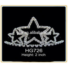 girl princess crown and tiara kid's tiara star pageant crown crown stand fan