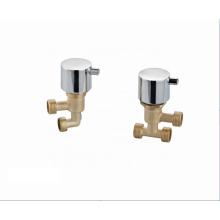 Newest OEM bathroom mixer faucets chrome surface finishing copper valve shower bathtub faucet