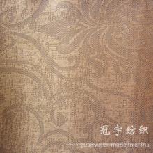 Tissu de velours côtelé composé de polyester et de nylon avec motif