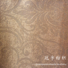 Polyester and Nylon Compound Corduroy Fabric with Pattern Design