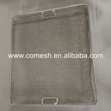 Square Hole Stainless Steel Wire Mesh Bandeja