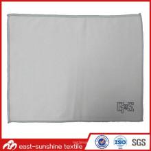 Logo personnalisé Tissu imprimé en microfibre avec bord cousu