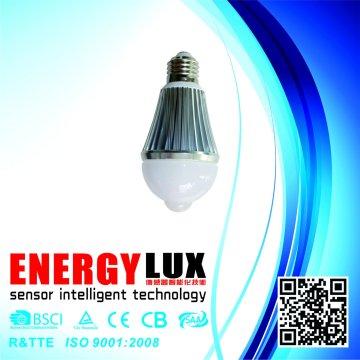E27 luz de sensor de movimento infravermelho para item popular